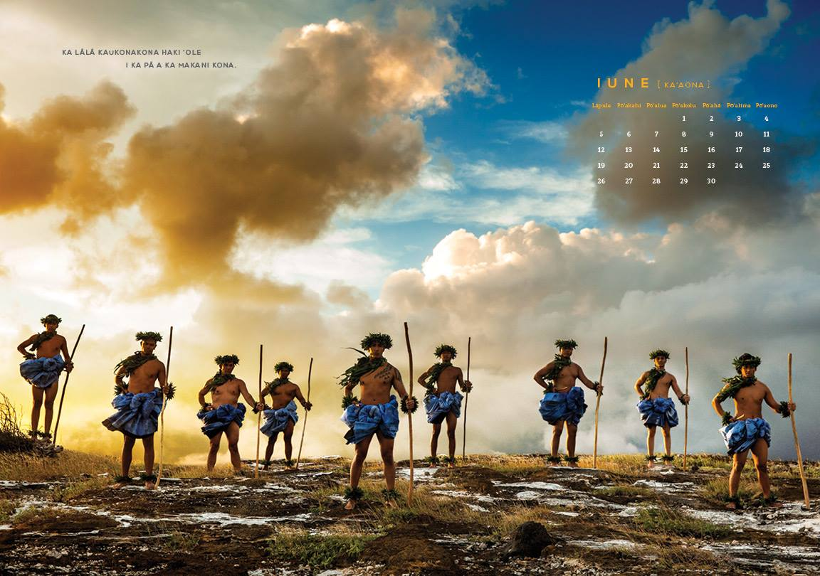 SLD Calendar. Retoucinng by Fotolisis