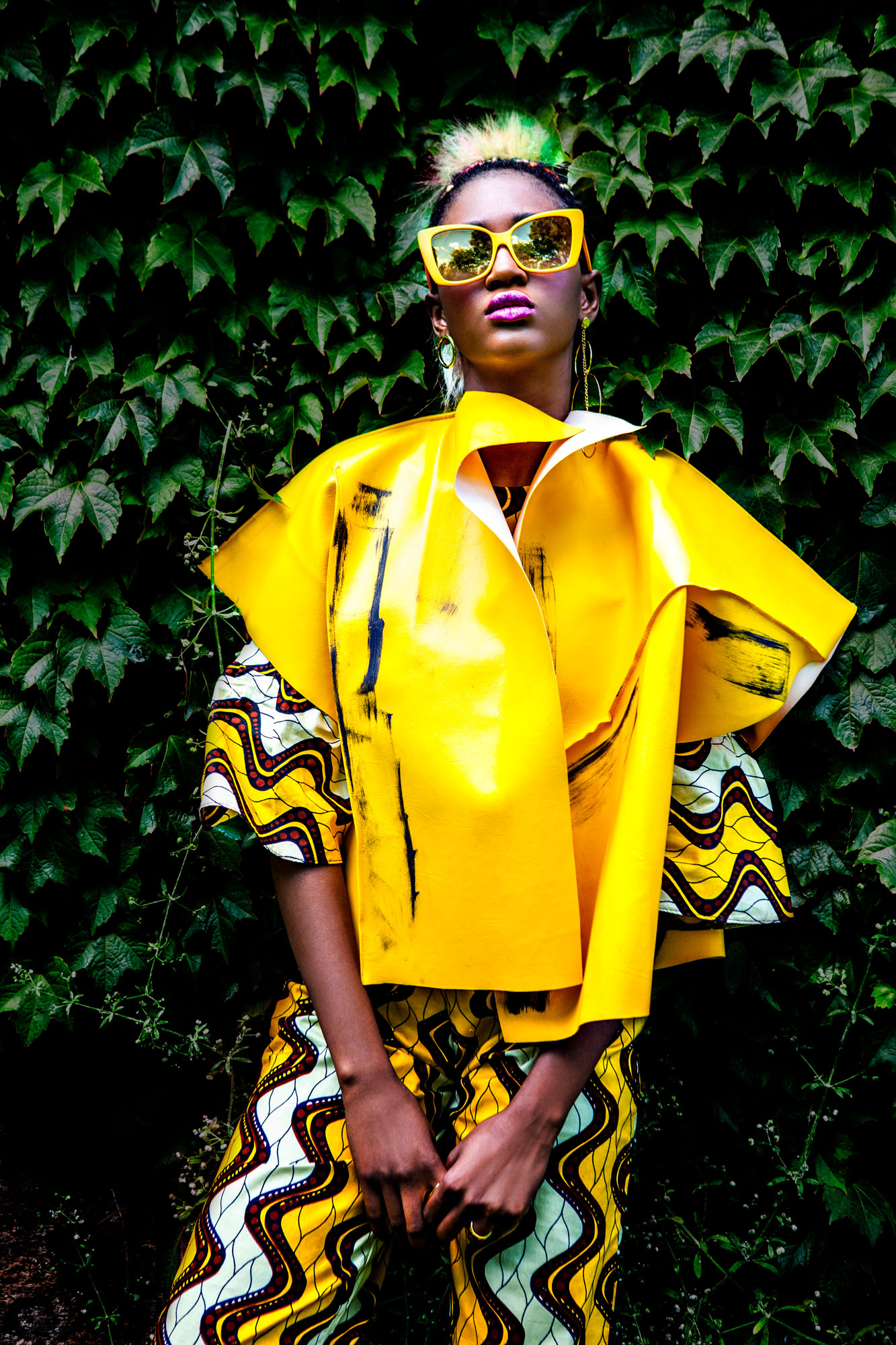 Afropolitain. Photography by Cecil Gillard, edit by Fotolisis