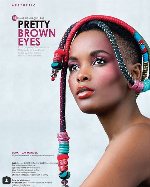 Afropoltain magazine. Fashion photography by Shannon Soule.