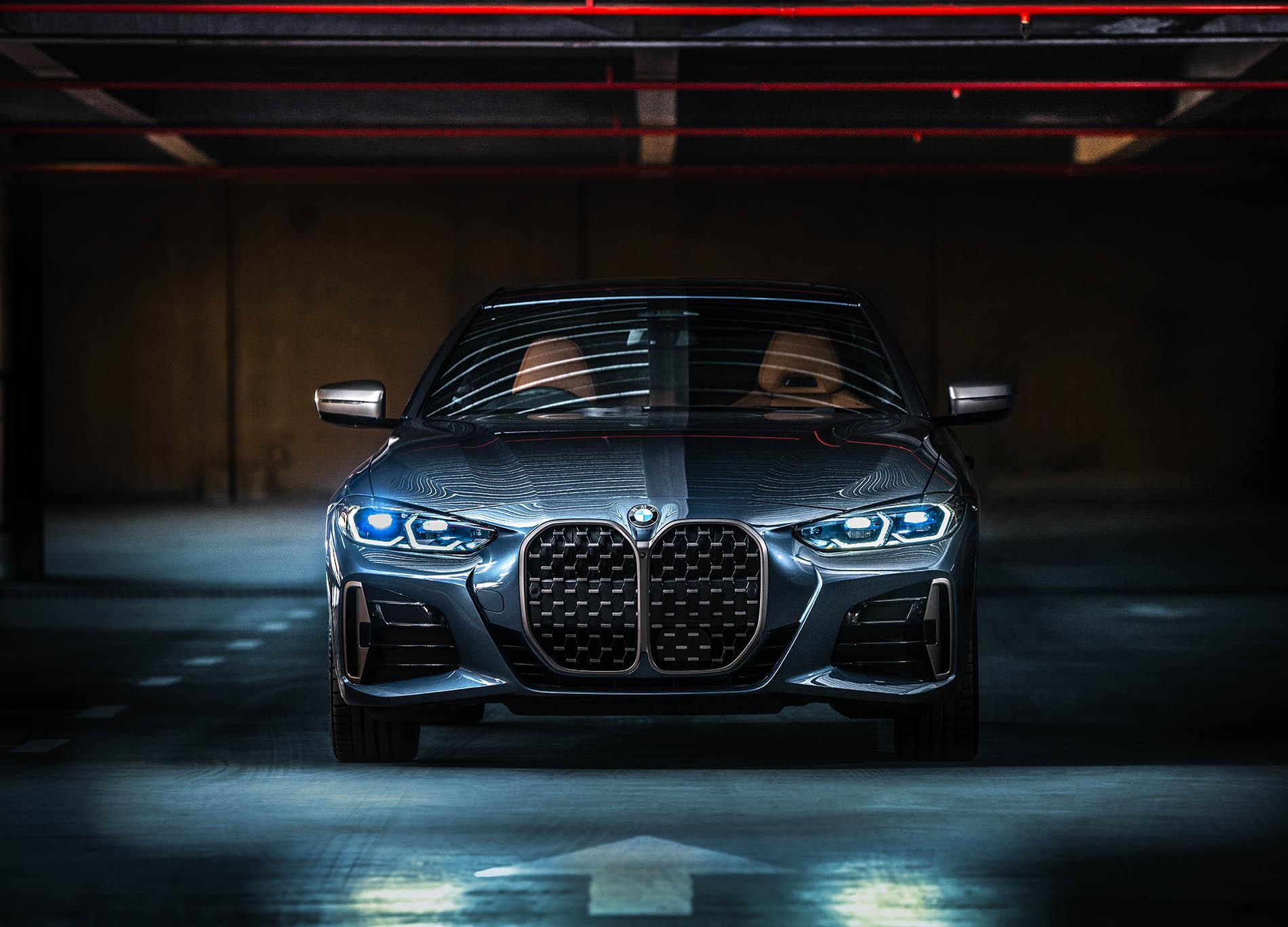 BMW car photo retouch